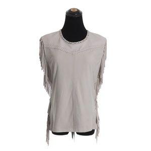 Iro Leather Vest